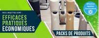 Pack Distributeur + Lingettes désinfectantes